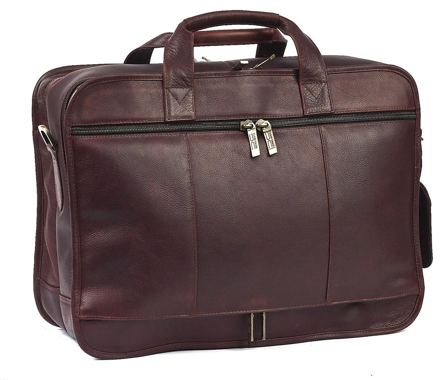 Italian Leather Briefcase – Matte Finish | Claire Chase